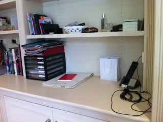Office nook after